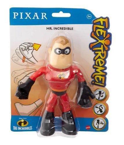 Bonecos Sr Incrível: Flexíveis Os Incríveis - Mattel (10cm)
