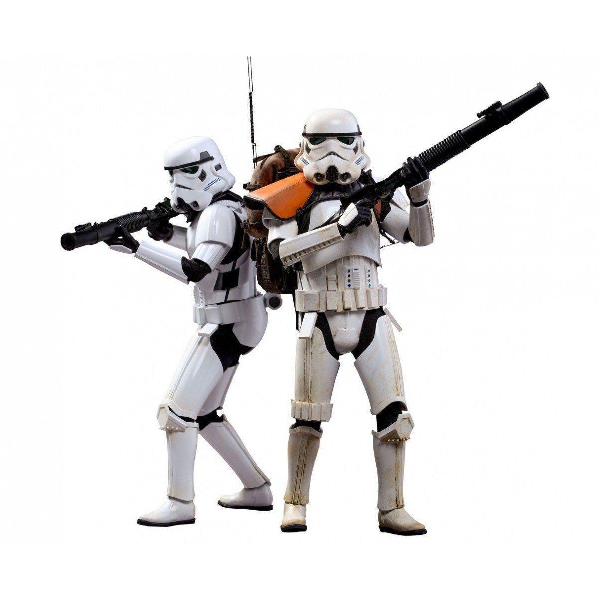Bonecos Stormtrooper (2 pack): Rogue One: Escala 1/6 - (MMS394) - Hot Toys - CD