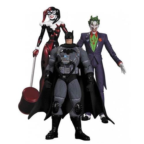Bonecos The Joker, Batman Stealth Jumper & Harley Quinn: Hush - DC Collectibles