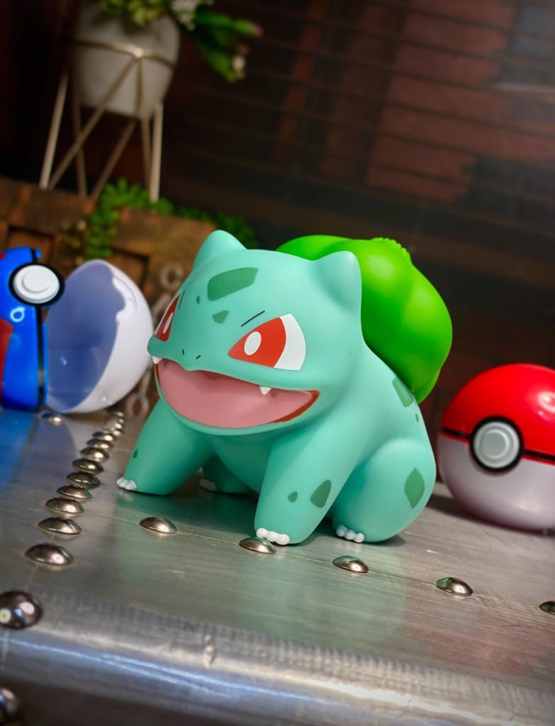 Bonecos Vinil Bulbasaur: Pokémon 10cm Serie 1 - Sunny