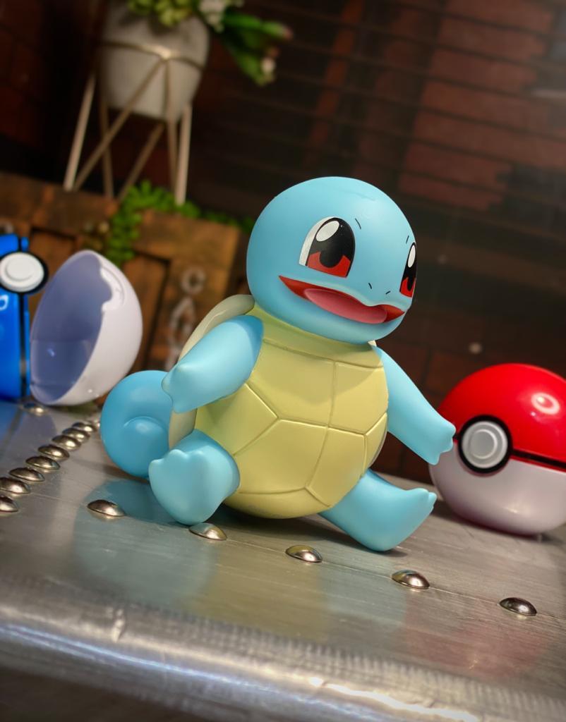 Bonecos Vinil Squirtle: Pokémon 10cm Serie 1 - Sunny