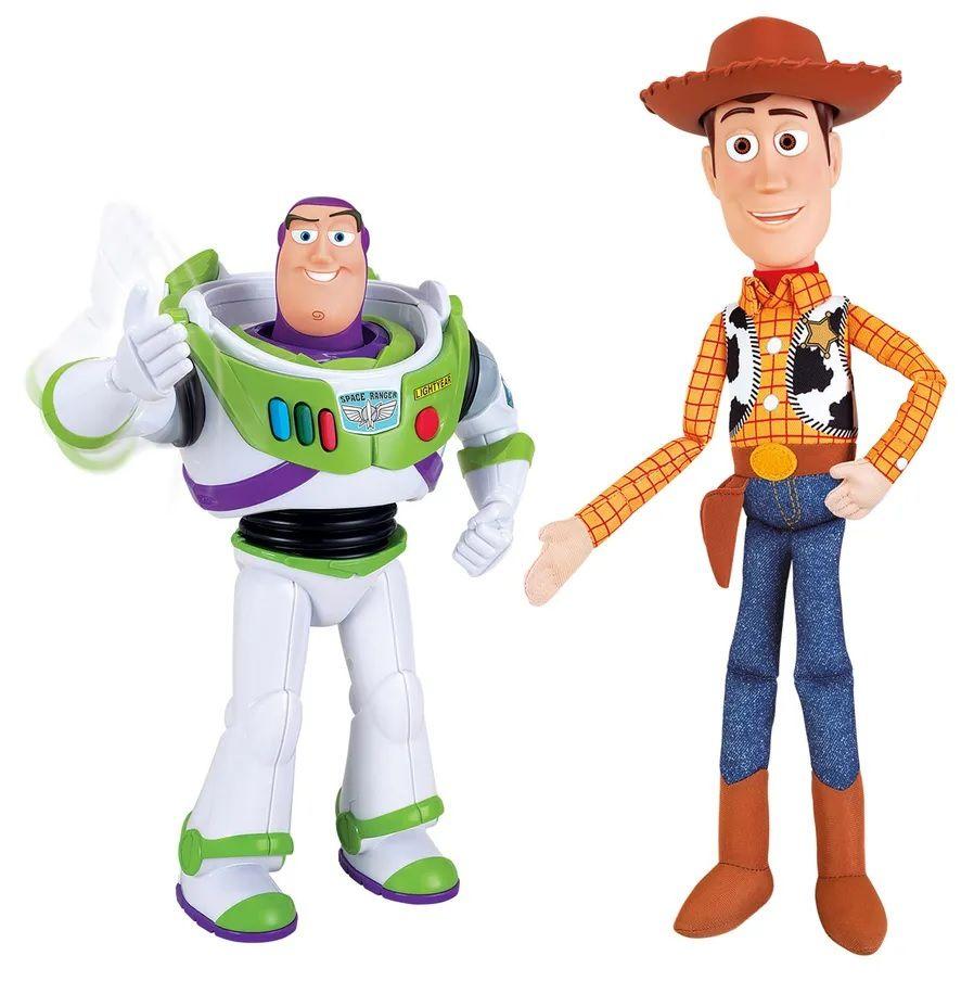 Bonecos Woody & Buzz Lightyear (Kit Parceiros): Toy Story - Toyng