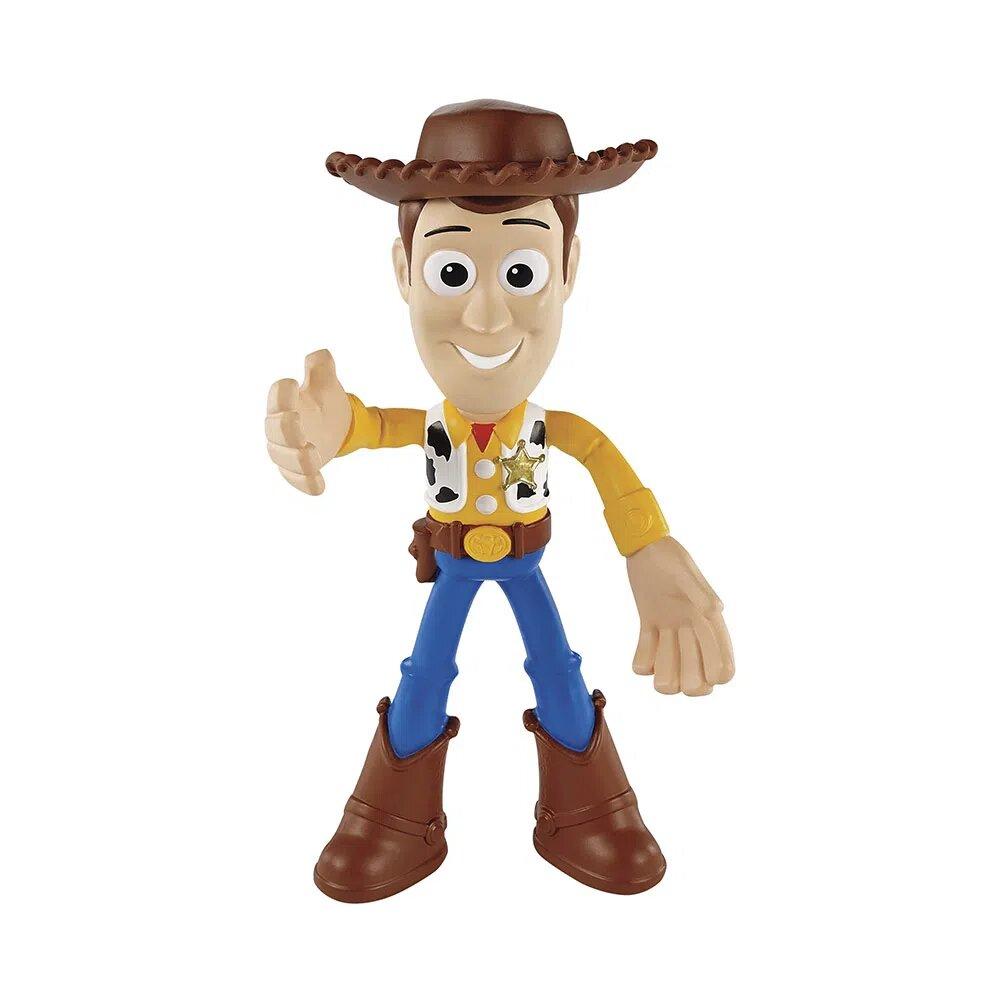 Bonecos Woody: Flexíveis Toy Story 4 - Mattel (10cm)