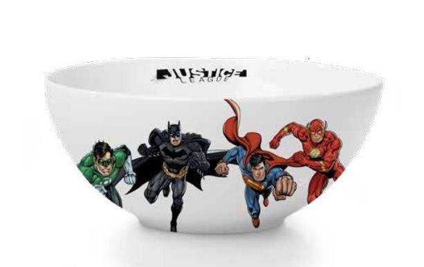 Bowl de Porcelana Heróis Liga da Justiça (Justice League): DC (400ml) - URBAN