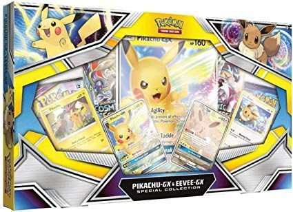 Box Pokémon Pikachu e Eevee (Coleção Especial)