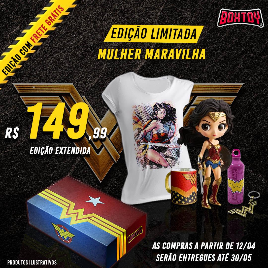 BoxToy Edição Mulher Maravilha