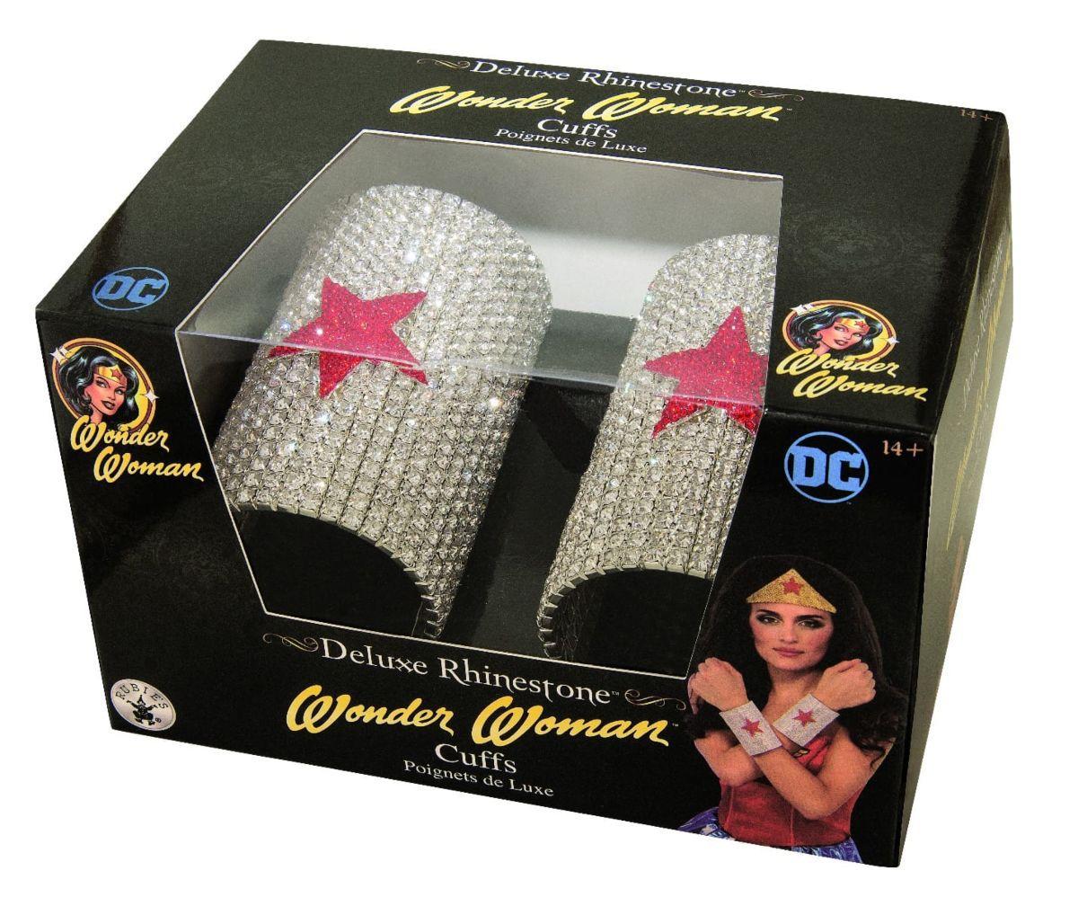 Bracelete Mulher Maravilha (Wonder Woman): Dc Comics (Acessório Fantasia) - Rubies Costume - CD