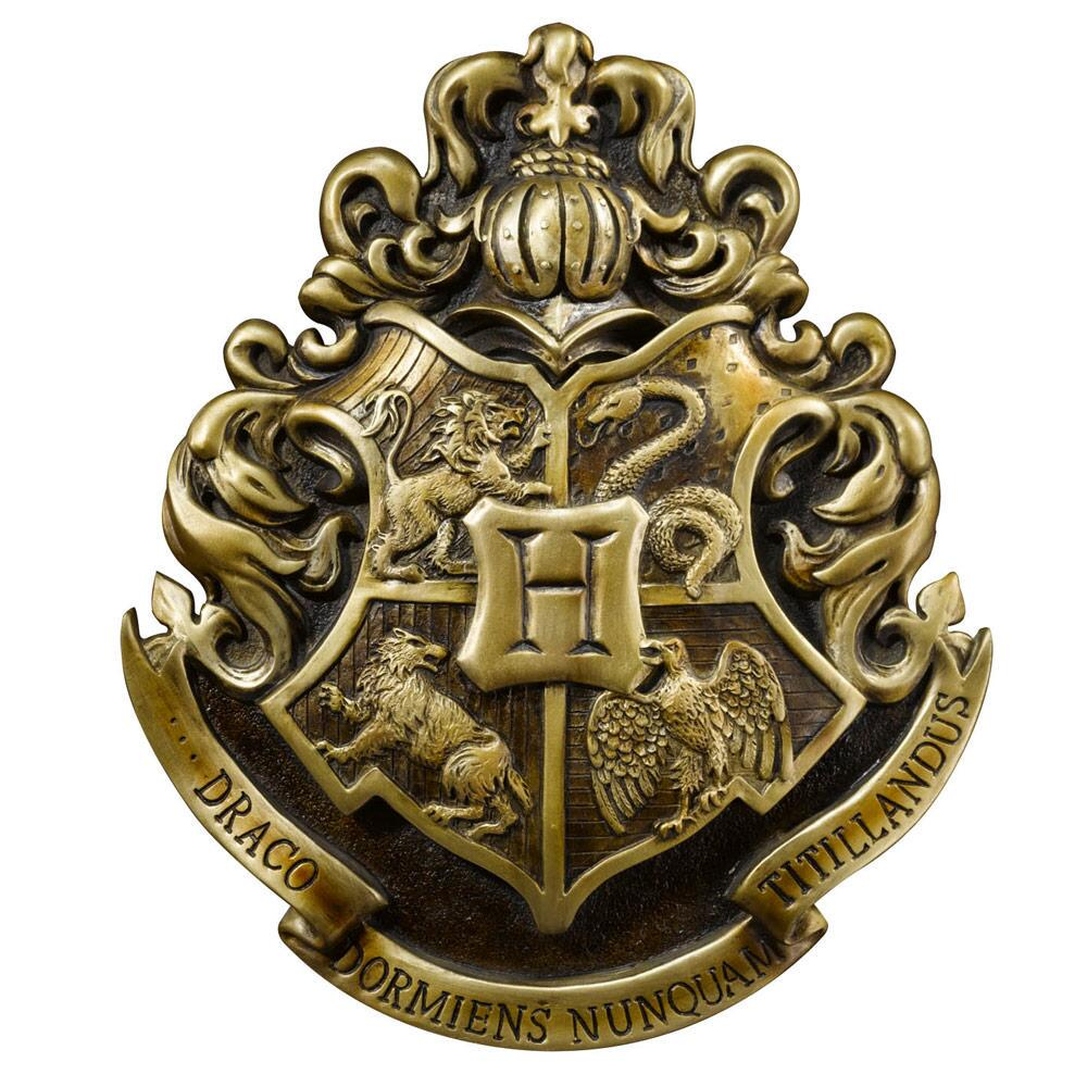 Brasão da Escola Hogwarts: Harry Potter - The Noble Collection