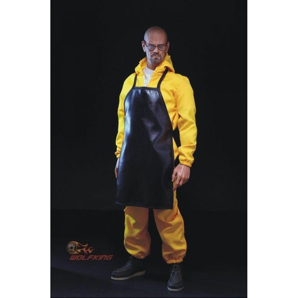 Action Figure Breaking Bad: Heisenberg Escala 1/6 Boneco Colecionável - Wolf King (Apenas Venda online)