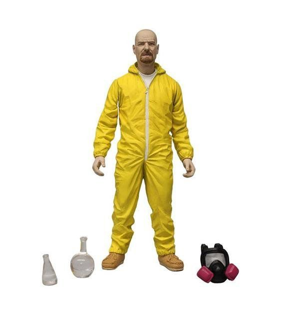Walter White Yellow (Amarelo) Hazmat: Breaking Bad - Mezco