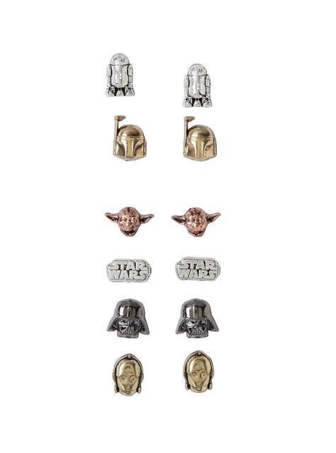 Brincos Star Wars 6 Pack - Loungefly