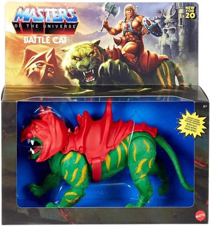 Brinquedo Action Figure Gato Guerreiro Battle Cat He Man: He-Man e os Mestres Do Universo Masters Of The Universe - Matt