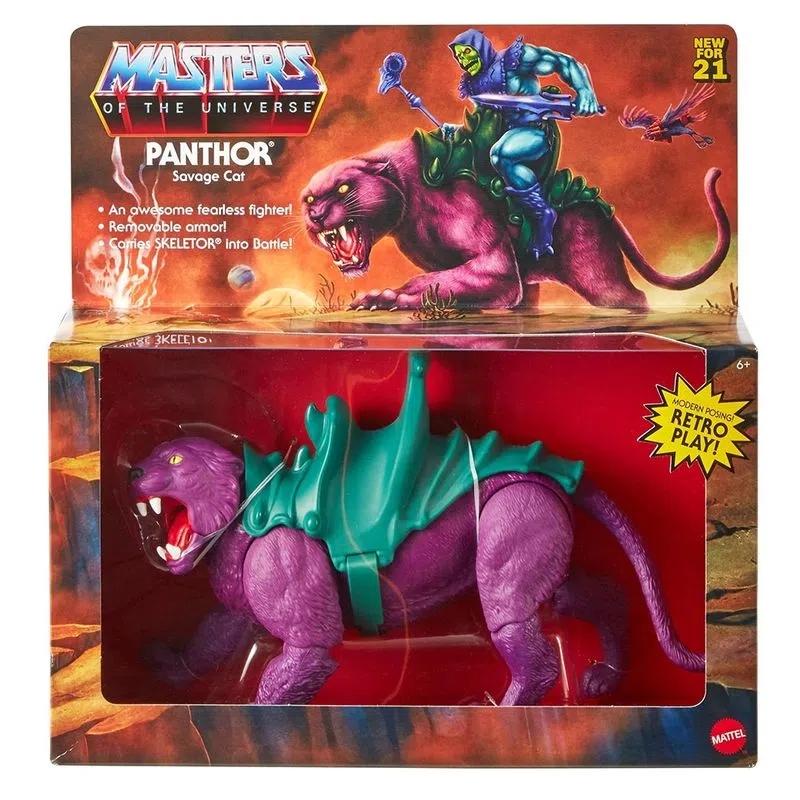 Brinquedo Action Figure Panthor Esqueleto Skeletor: He-Man e os Mestres Do Universo Masters Of The Universe - Mattel