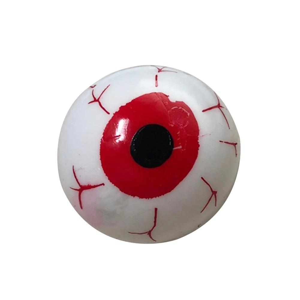 Brinquedo Anti Estresse Fidget Pop Tube Stress Ball Wacky Track Squish SquishMallow Olho Splash de Gel Apertar Sensorial de Alívio de Stress Vermelho