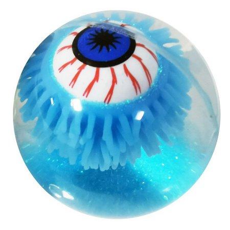 Brinquedo Bola Bolinha Com Led Olho Big Eyes Azul