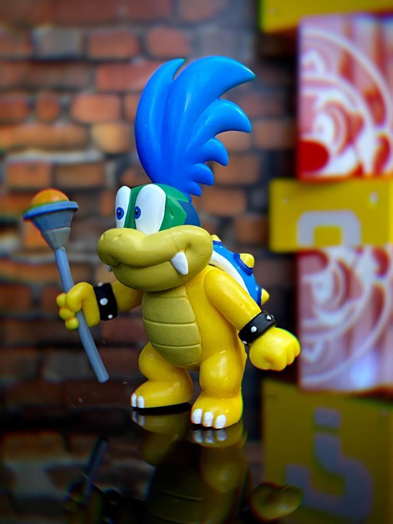 Brinquedo Boneco Action Figure Larry Koopa: New Super Mario - Jakks Pacific