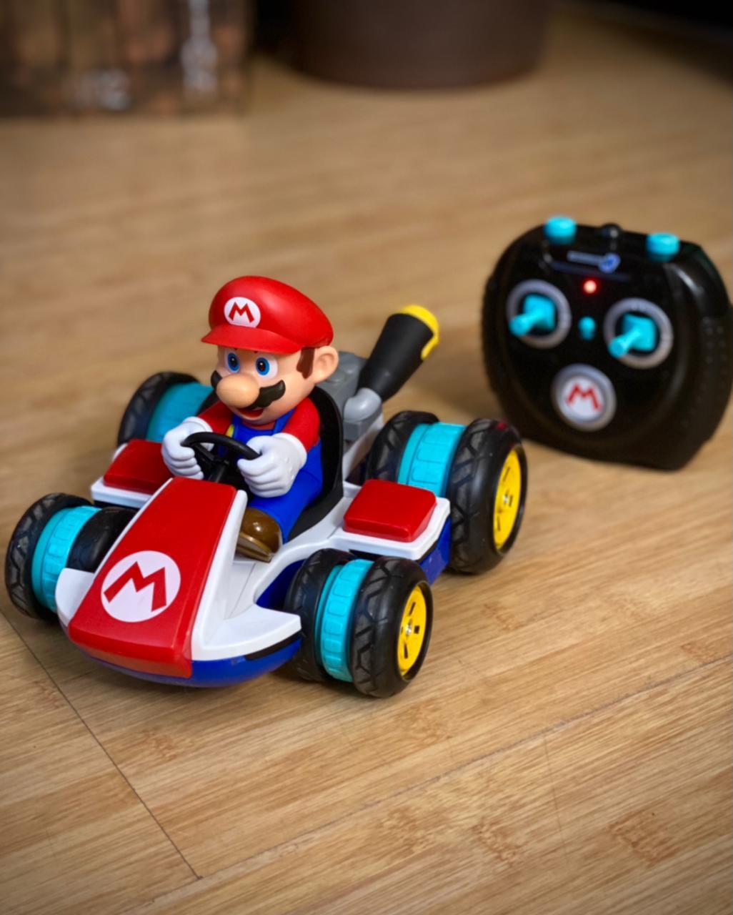 Brinquedo Carro Carrinho Controle Remoto Mario Anti-Gravity R/C Racer: Mario Kart Mario Bros- Jakks Pacific