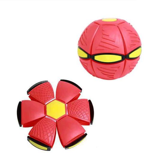 Brinquedo de Descompressão Frisbee Bola UFO Deformed Ball (Vermelha) - EVALI