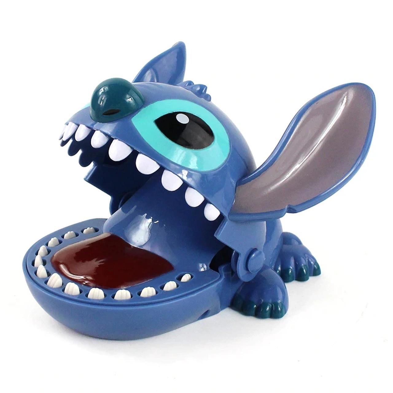 Brinquedo Jogo Crocodilo Dentista Stitch: Lilo & Stitch - Disney - ET
