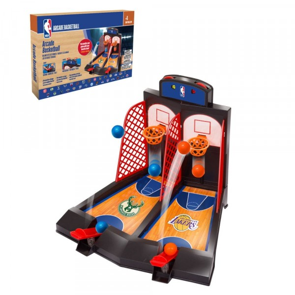 Brinquedo Jogo de Família Basquete de Mesa Duplo NBA Arcade Basketball Family Game - NBA