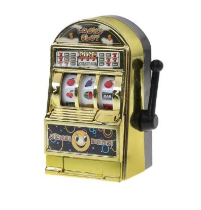 Brinquedo Mini Caça-Níquel Jackpot (Dourada) - EVALI