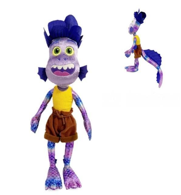 Brinquedo Pelúcia Boneco Desenho Animado Alberto Scorfano: Luca Disney - EVALI