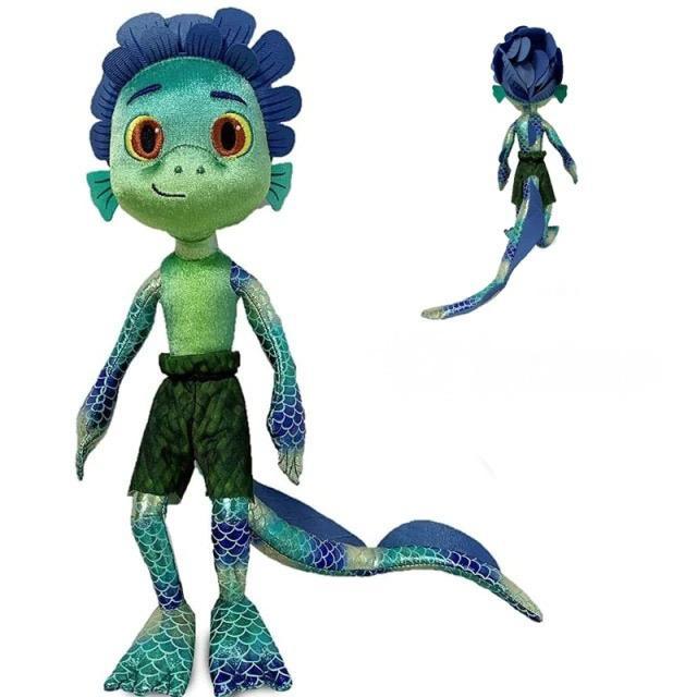 Brinquedo Pelúcia Boneco Desenho Animado Luca Paguro: Luca Disney - EVALI
