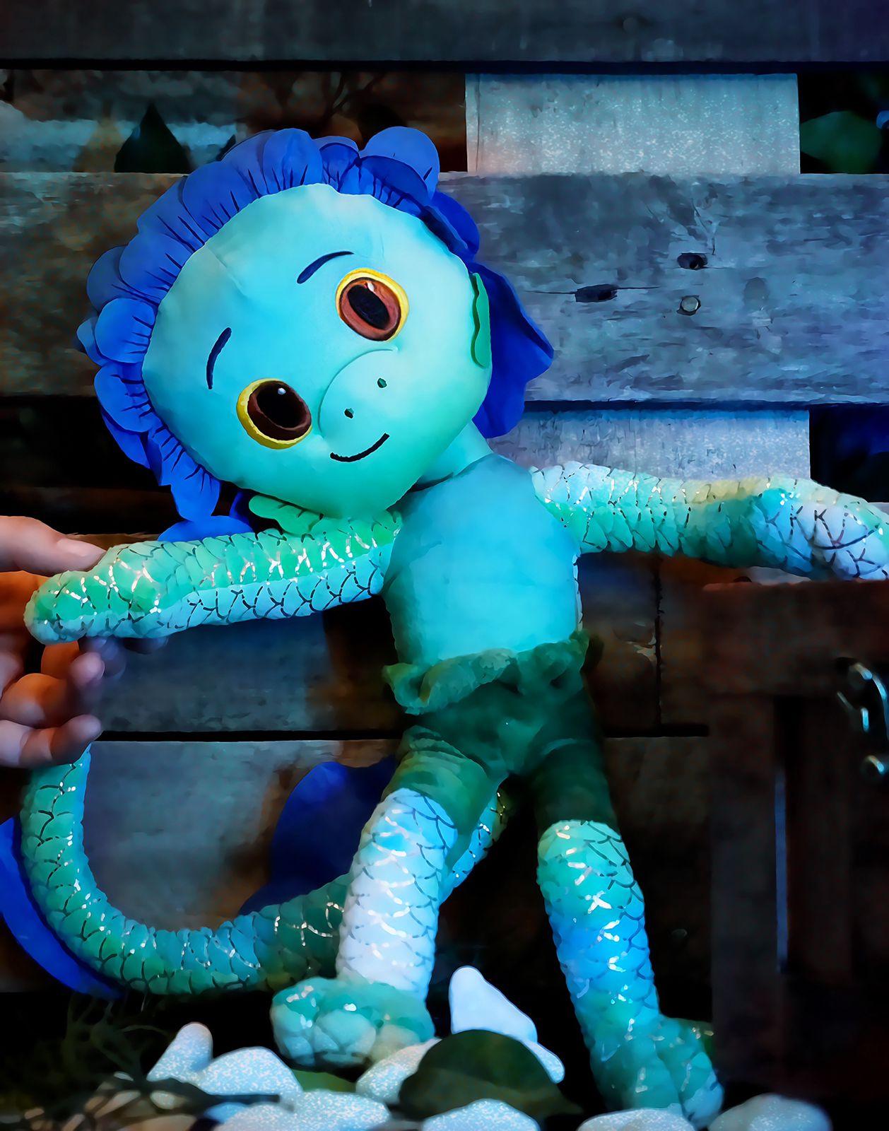 Brinquedo Pelúcia Boneco Desenho Animado Luca Paguro: Luca Disney