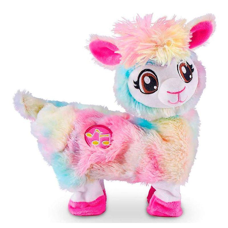 Brinquedo Pelúcia Bonnie Lhama Dançarina Dançante Shake: Zuru Pets Alive