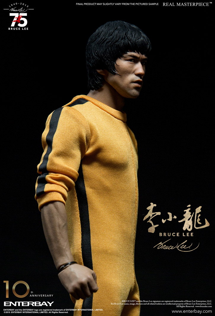 Bruce Lee 75th Anniversary Escala 1/6 - Enterbay