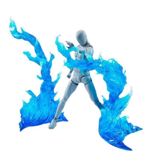 Burning Flame Blue Tamashii Effect - Bandai