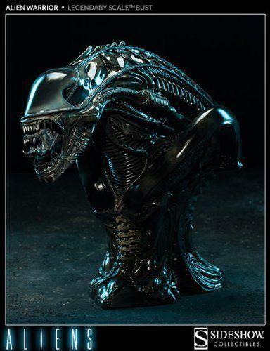 Busto Alien Warrior Legendary Escala 1/2 - Sideshow - CD