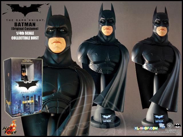 Busto Batman: O Cavaleiro das Trevas Escala 1/4 - Hot Toys  - Toyshow Geek e Colecionáveis Tudo em Marvel DC Netflix Vídeo Games