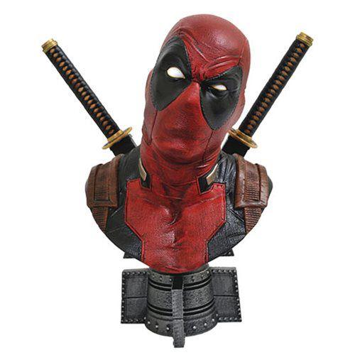Busto Deadpool: Legendary Marvel Comics (Escala 1/2) - Diamond Select (Apenas Venda Online)