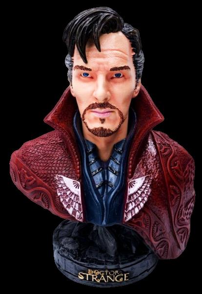 Busto Doutor Estranho (Doctor Strange): Vingadores Guerra Infinita (Avengers Infinity War)