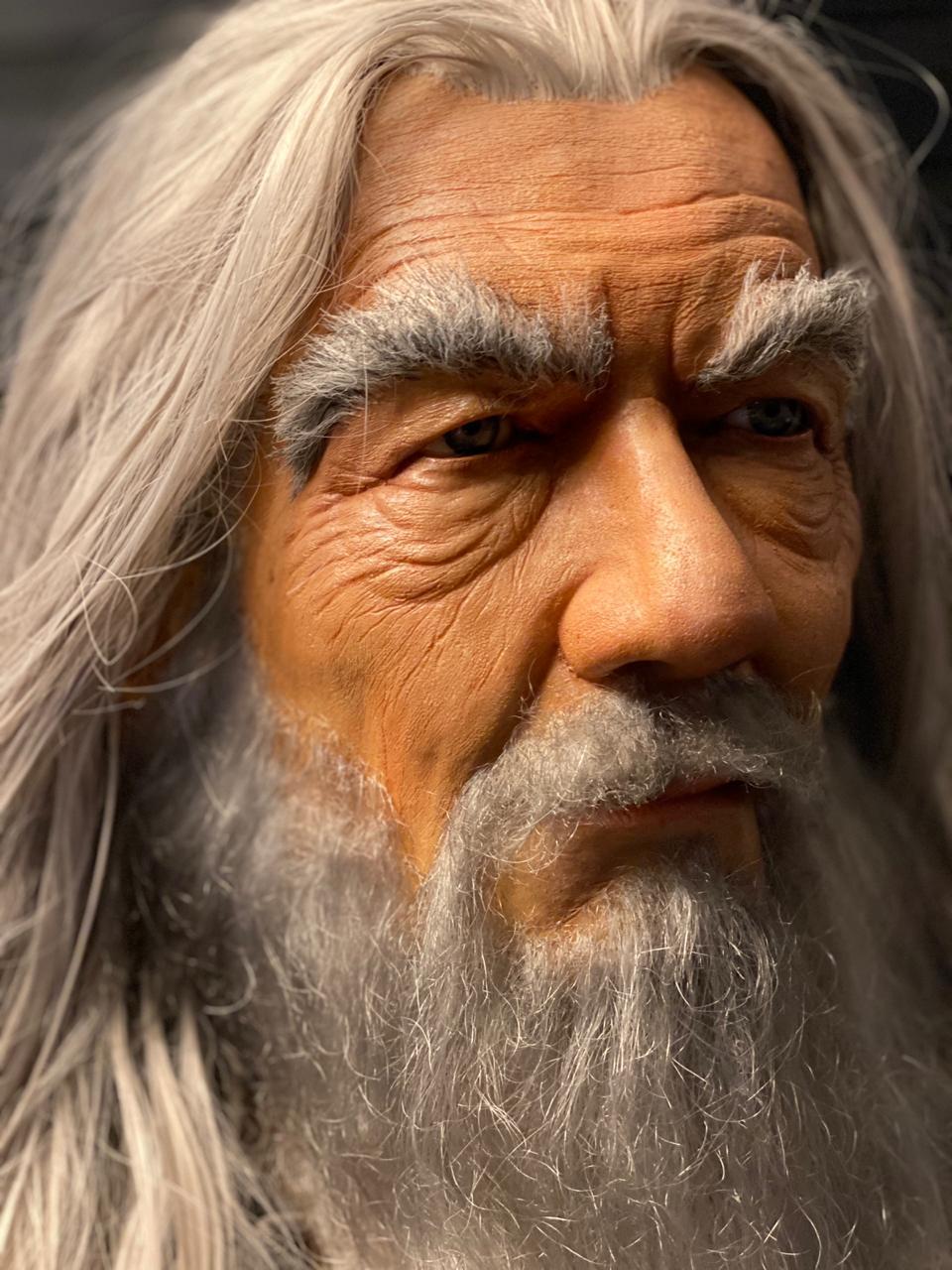 Busto Gandalf Escala 1:1 - By Edinho Maga