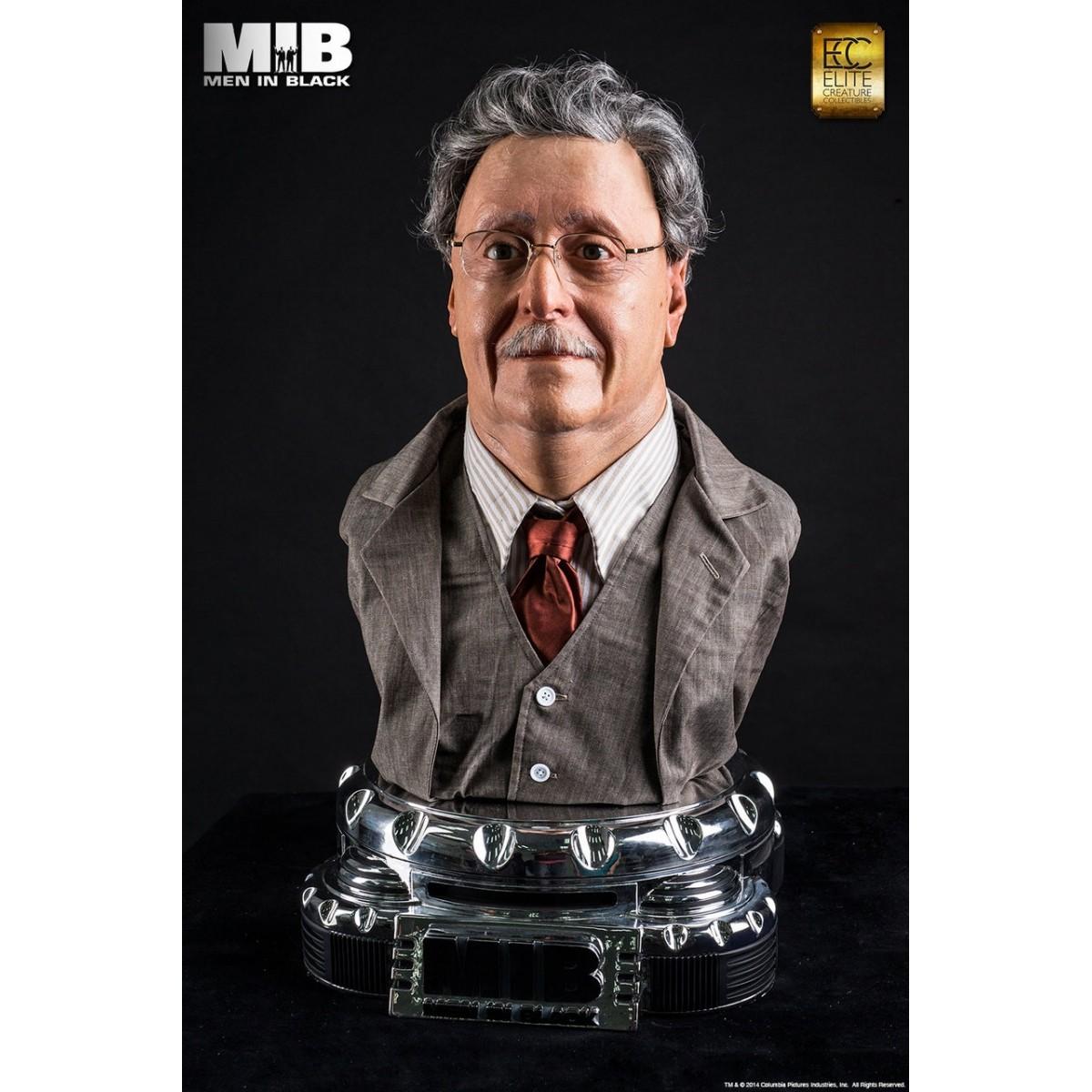 Busto Gentle Rosenburg: MIB: Homens de Preto Escala 1/1 - Elite Creature Collectibles - CG