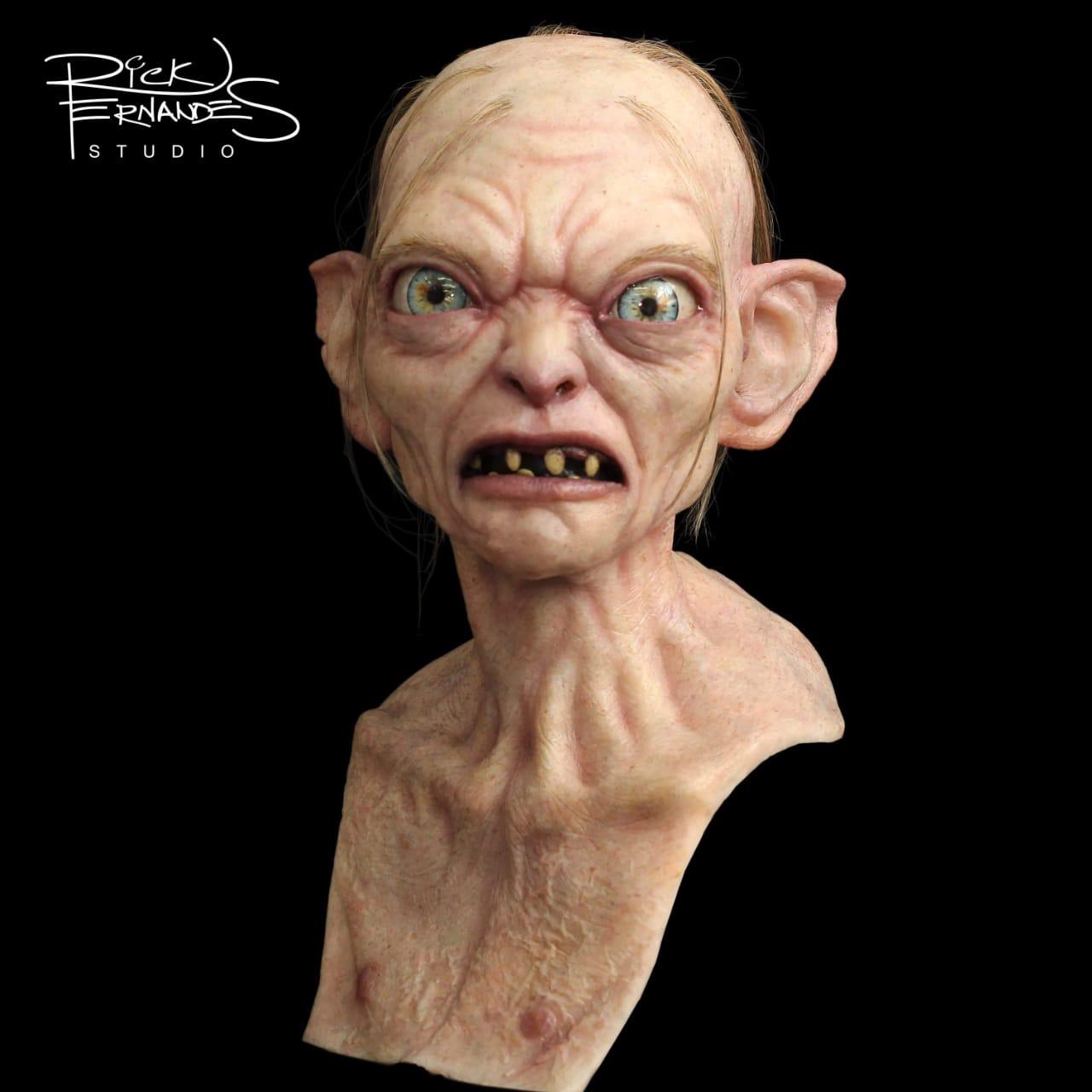Busto Gollum Life Size: Senhor dos Anéis (Lord of the Rings) - Escala 1/1 (Apenas venda online)
