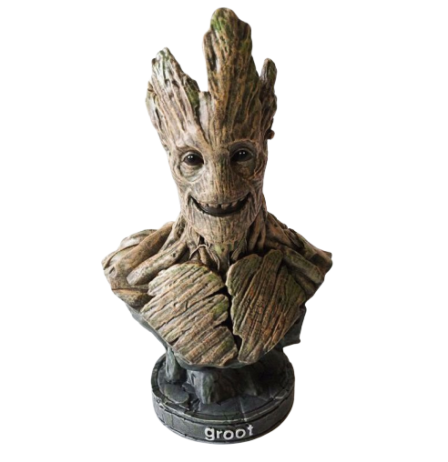 Busto Groot: Guardiões da Galáxia (Guardians of the Galaxy) - Marvel Comics