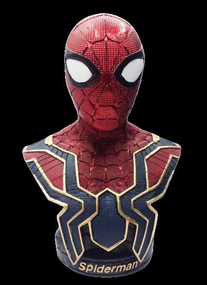 Busto Homem-Aranha (Iron Spider): Vingadores Guerra Infinita (Avengers Infinity War) - ev