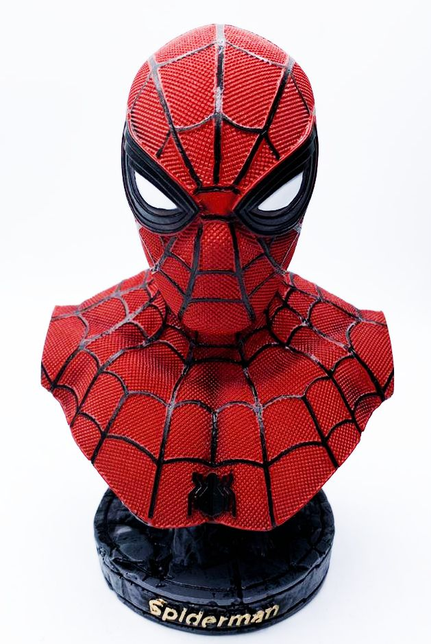 Busto Homem-Aranha (Spider-Man): Homem-Aranha De Volta ao Lar (Homecoming) -WARS