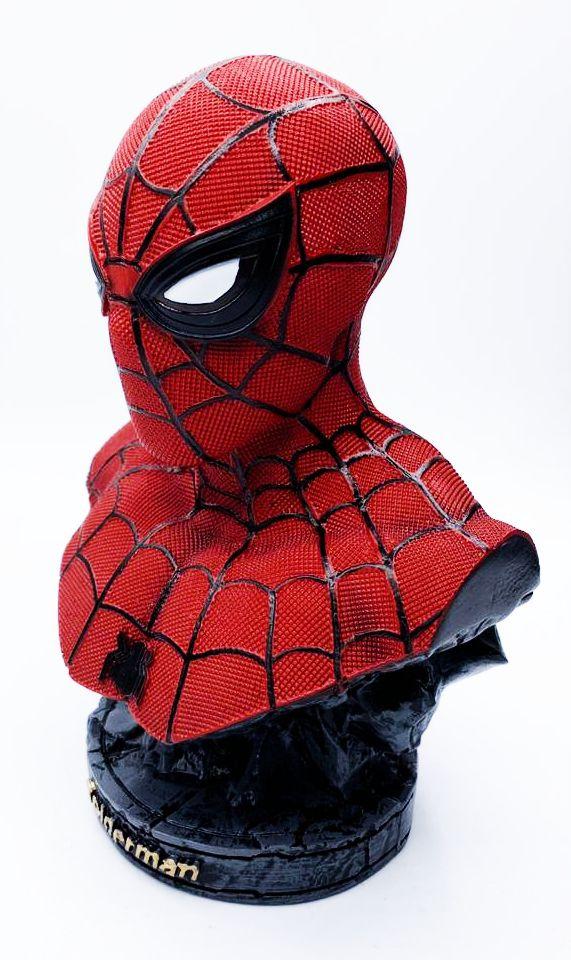 Estátua Busto Homem-Aranha (Spider-Man): Homem-Aranha De Volta ao Lar (Homecoming) - WARS - EV