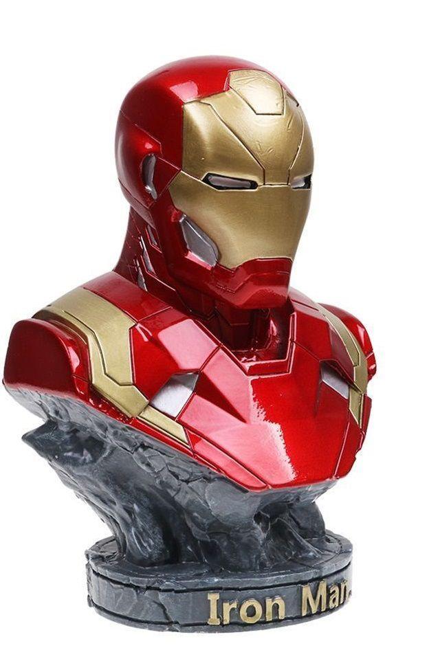 Busto Homem de Ferro (Iron Man Mark XLIII): Marvel