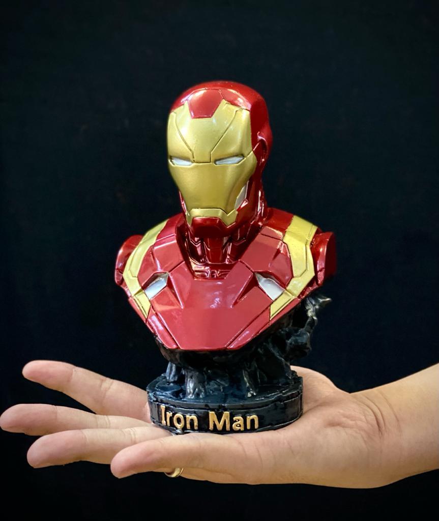 Busto Homem de Ferro Iron Man Mark XLIII: Marvel Comics - EV
