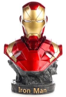 Busto Homem de Ferro (Iron Man Mark XLVI): Marvel - Escala 1/2 (Apenas Venda Online)