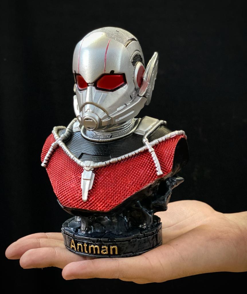 Busto Homem-Formiga Ant-Man: Vingadores Guerra Infinita Avengers Infinity War - EV