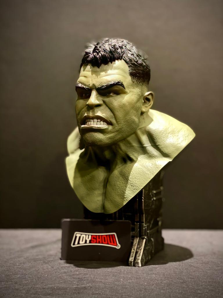 Estátua Busto Hulk: Thor Ragnarok (Limited Edition) Escala 1/2 - Diamond Select