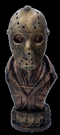 Busto Jason Voorhees (Cobre): Sexta-Feira 13 (Friday the 13th)