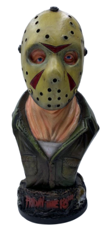 Busto Jason Voorhees: Sexta-Feira 13 (Friday the 13th)