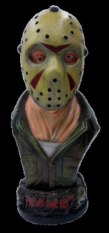 Estátua Busto Jason Voorhees: Sexta-Feira 13 (Friday the 13th)